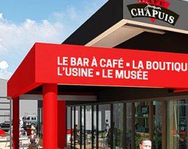 Découvrez le village café des Cafés Chapuis.
